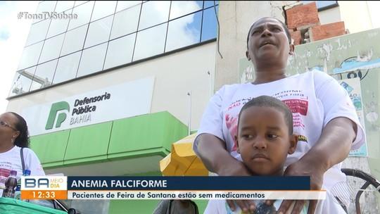 Pacientes de Feira de Santana estão sem medicamentos e médicos para anemia falciforme