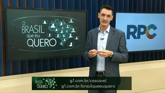 Qual é o Brasil que você quer para o futuro?