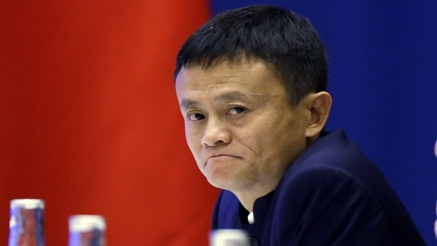 Jack Ma, presidente do conselho do Alibaba (Foto: Elaine Thompson-Pool/Getty Images)