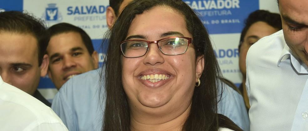 Ana Paula Matos passa a ser a nova diretorora-geral das Prefeituras-Bairro — Foto: Max Haack/Secom PMS