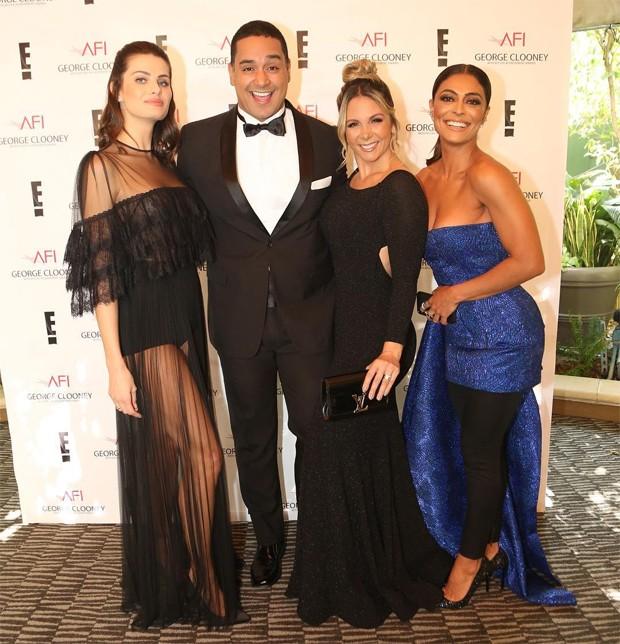 Isabeli Fontana, Xanddy, Carla Perez e Juliana Paes (Foto: Reprodução/Instagram)