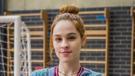 Fabiana é destaque da próxima quinzena de 'Malhação'; personagem se envolve em confusão