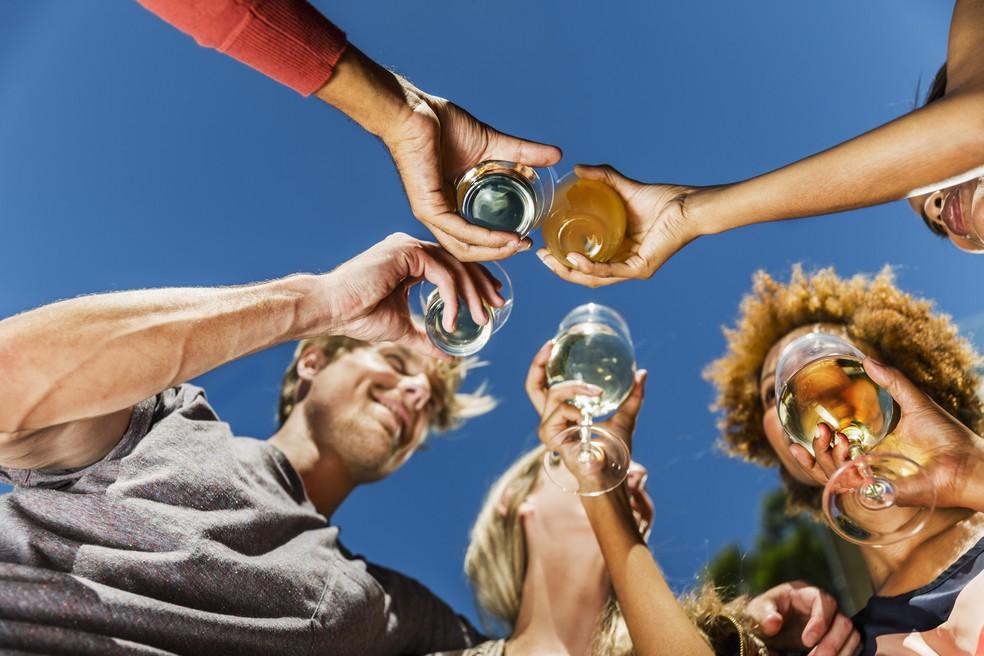 Consumo de álcool em excesso não é compatível com a prática esportiva (Foto: Getty Images)