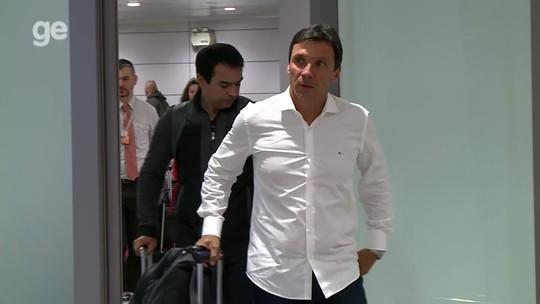 Zé Ricardo desembarca em Porto Alegre para assumir como técnico do Inter