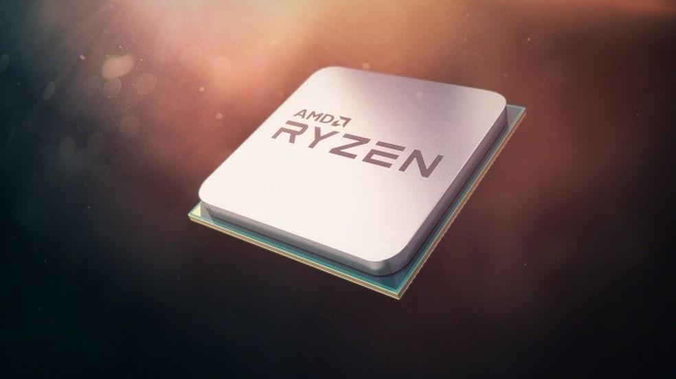 Ryzen 5 tem quatro núcleos (Foto: Foto: Divulgação/AMD)