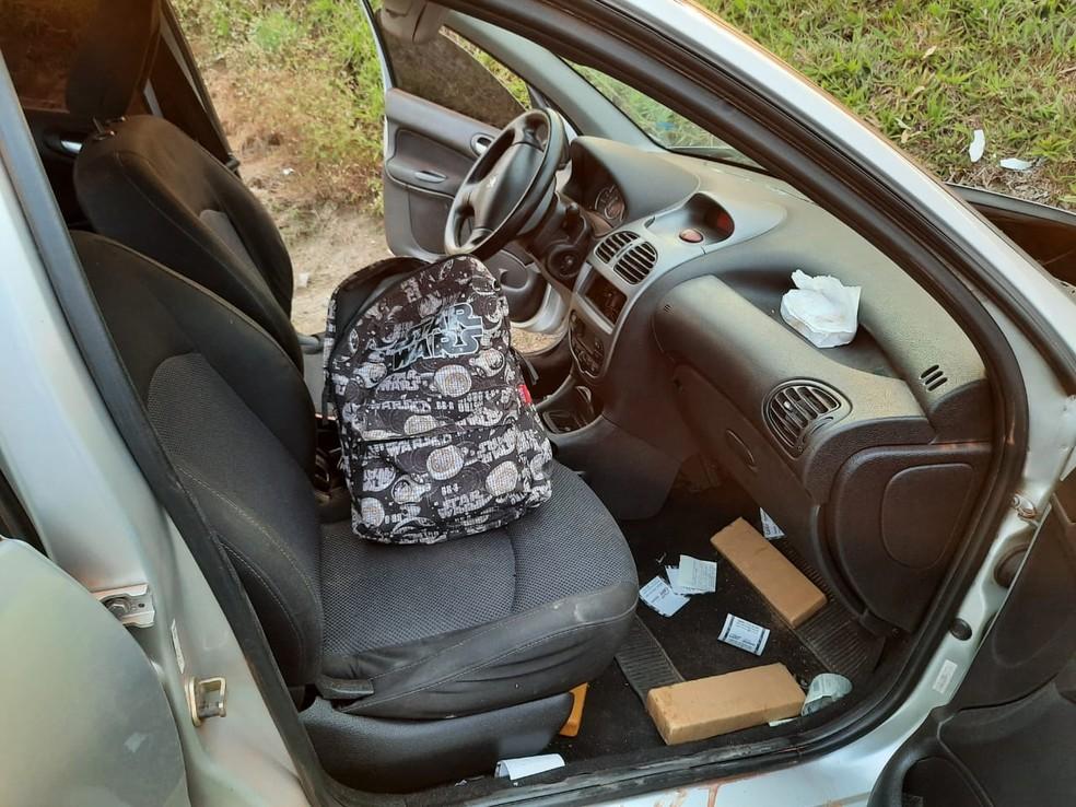 Motorista foi preso em flagrante  — Foto: Polícia Militar Rodoviária/Divulgação