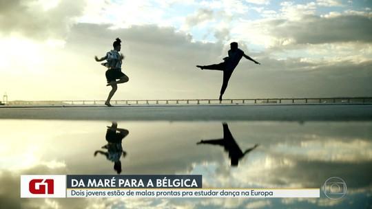 G1 no BDRJ: bailarinos do Complexo da Maré conquistam bolsas de estudos em escola de dança