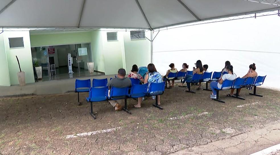 Posto de saúde em Jeriquara, SP — Foto: Jefferson Severiano Neves/EPTV