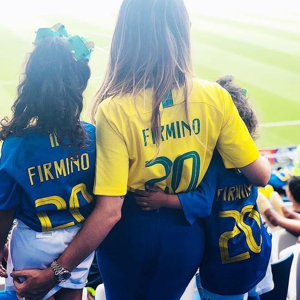 Mulheres dos jogadores (Foto: Reprodução/Instagram)