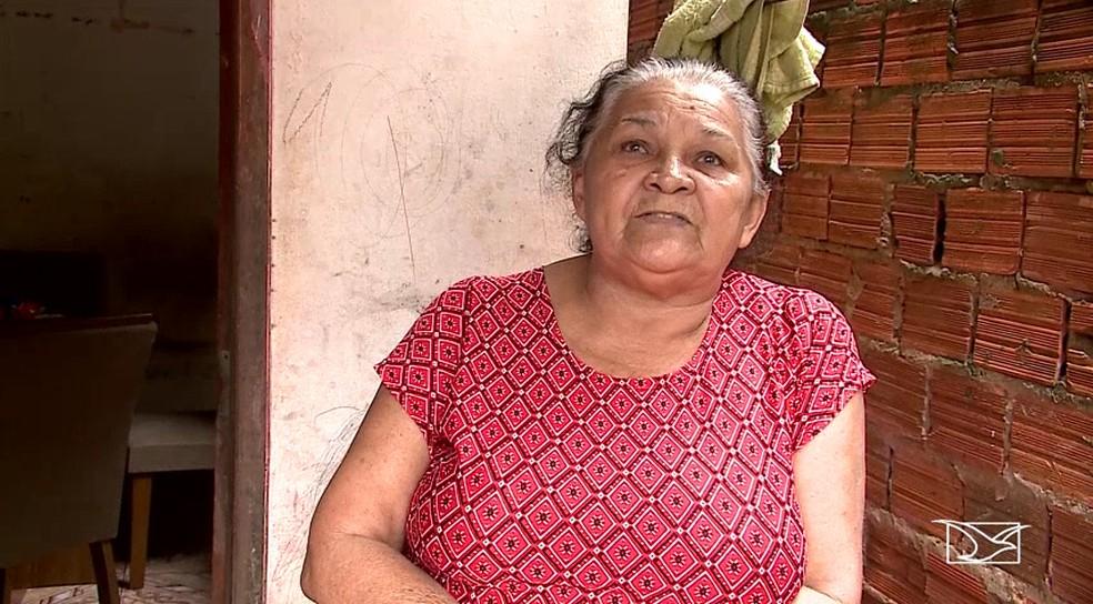 Maria Raimunda diz que só se candidatou a deputada estadual a pedido do vereador Chico Carvalho, do PSL. — Foto: Reprodução/TV Mirante