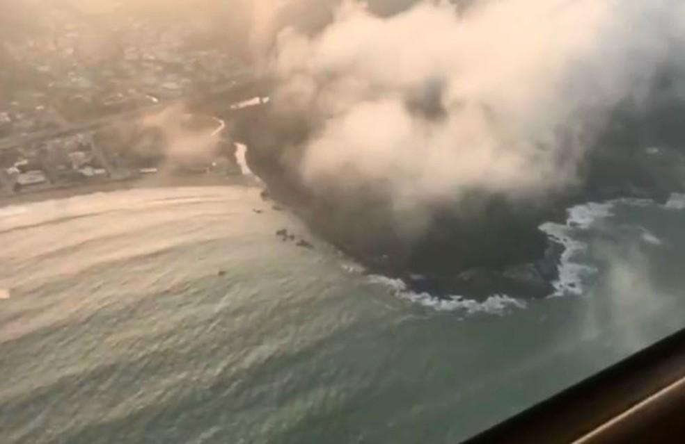 Desaparecimento do piloto e da aeronave ocorreu no dia 27 de julho (Foto: Reprodução/ NSC TV)