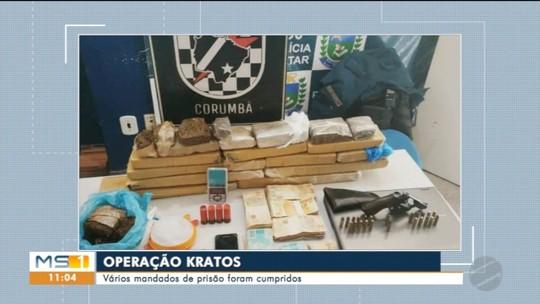 Polícia realiza na região de fronteira a operação Kratos