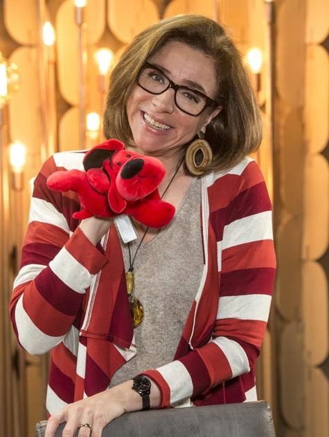 Marisa Orth em 'Pais de primeira' (Foto: TV Globo)