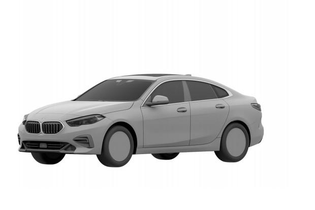 BMW Série 2 Gran Coupé (Foto:  Reprodução/INPI)