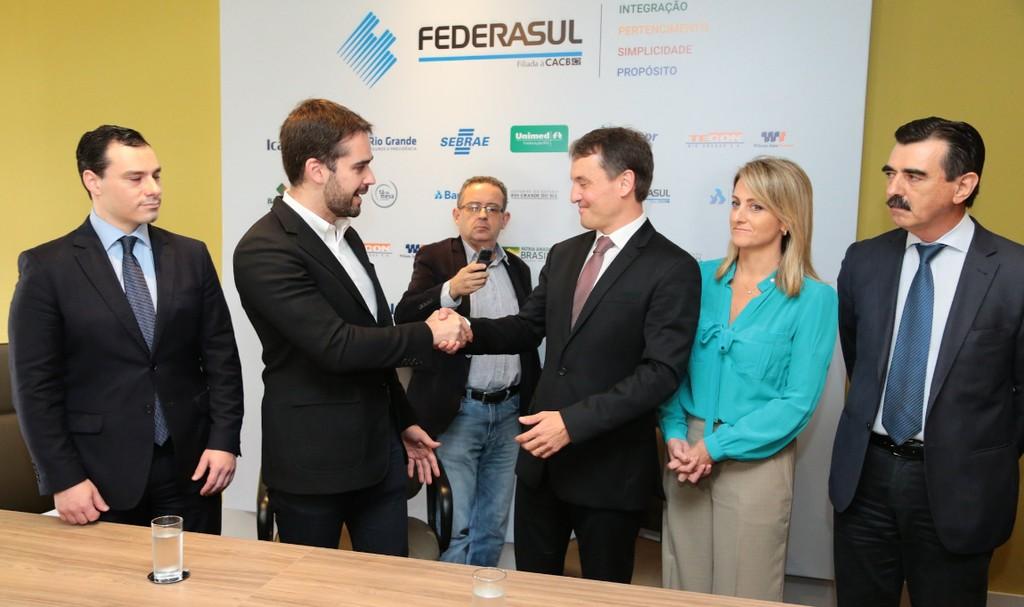 Governador anuncia recondução de Fabiano Dallazen ao cargo de procurador-geral de Justiça do RS - Noticias