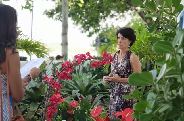 Bel Kutner em cena de 'Verão 90' (Foto: Globo/Ana Paula Guimarães)