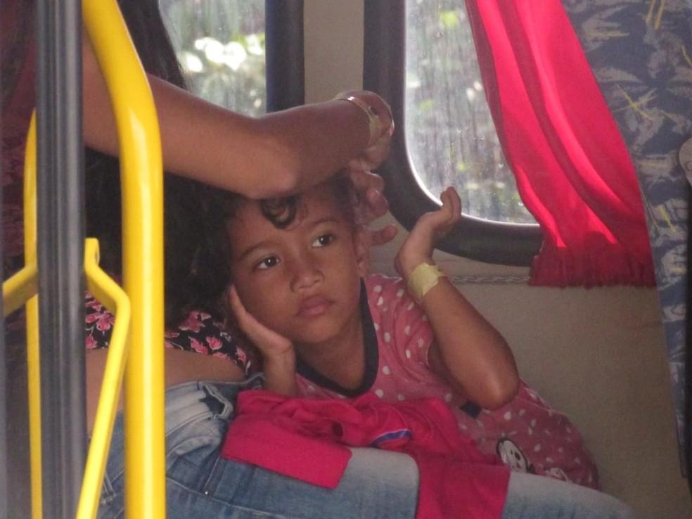 Para Camila Batista, o pedido de refúgio é uma alternativa.  — Foto: Patrícia Grenhas/Cáritas Brasileira Articulação Noroeste