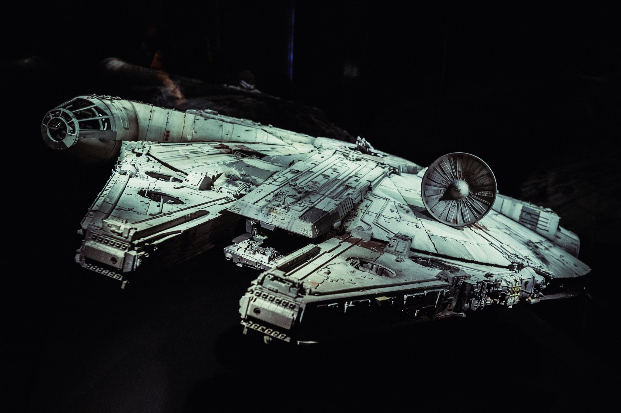 Millennium Falcon, a nave de Star Wars (Foto: Flickr/Kory Westerhold/Creative Commons)