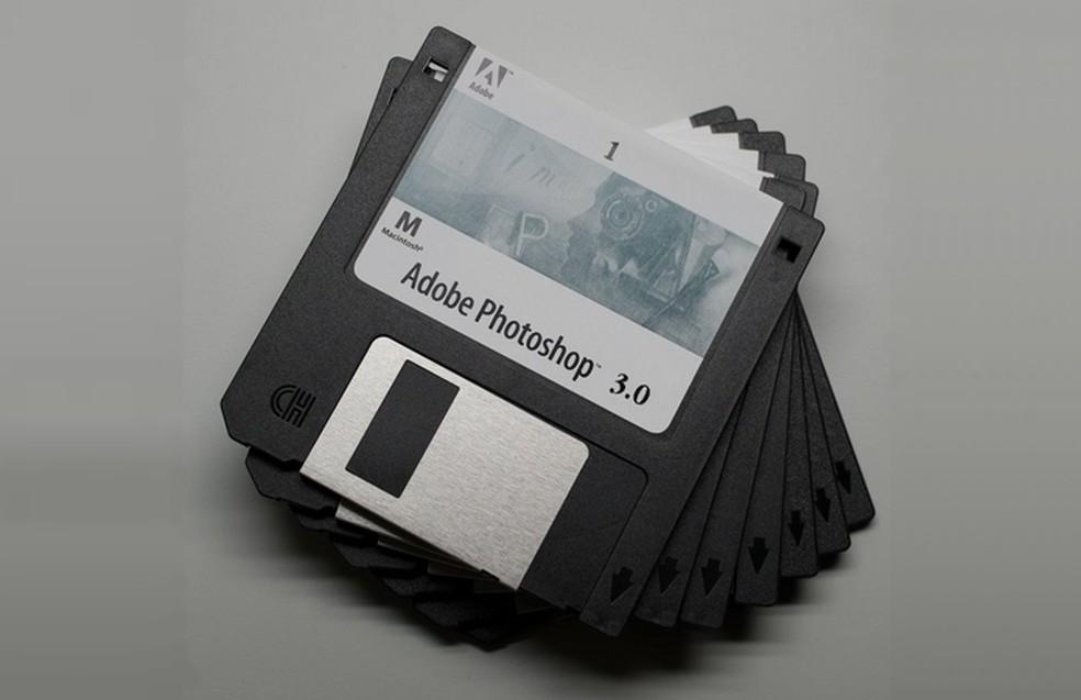 Este nevoie de mai mult de dischete 2 1.000 pentru a instala ultima versiune Photoshop pe computer - Foto: Comunicat de presă / Adobe