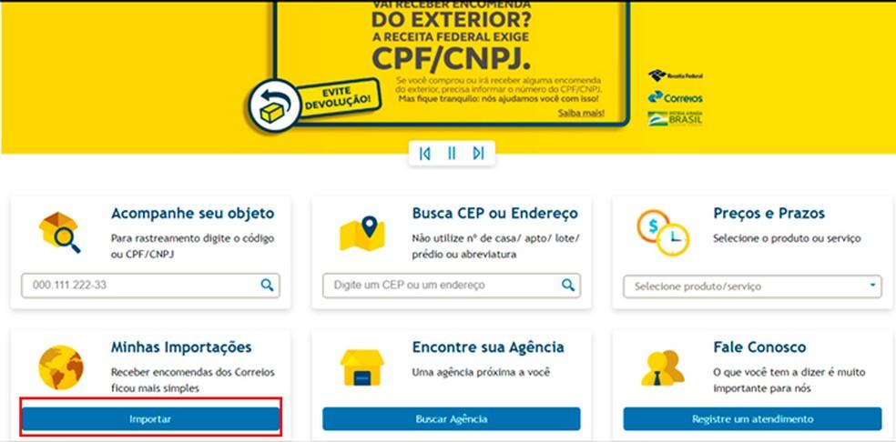 Nova Regra dos Correios, Como rastrear o seu produto pelo CPF ...