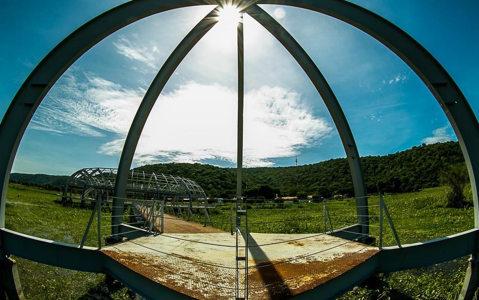Memorial Rondon, em Mato Grosso — Foto: Chico Valdiner/Gcom-MT
