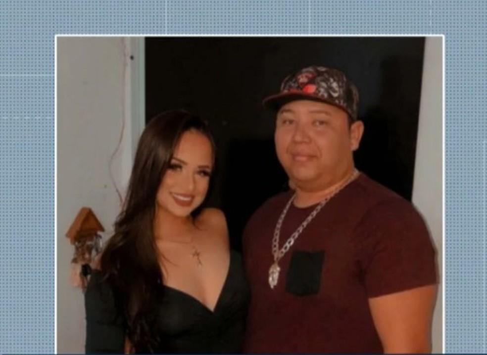 Kennedy Ramon Alves Linhares, 32 anos, e Lourrany Silva, de 19 anos — Foto: Reprodução/TV Cabo Branco
