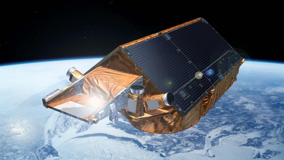 Desde 1992, satélites europeus ajudam a monitorar o continente gelado (Foto: ESA)