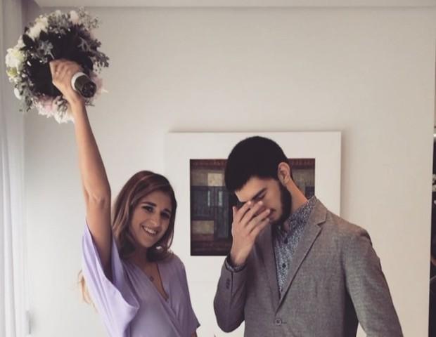 Vinícius Bonemer e Thalita Martins (Foto: Reprodução/Instagram)