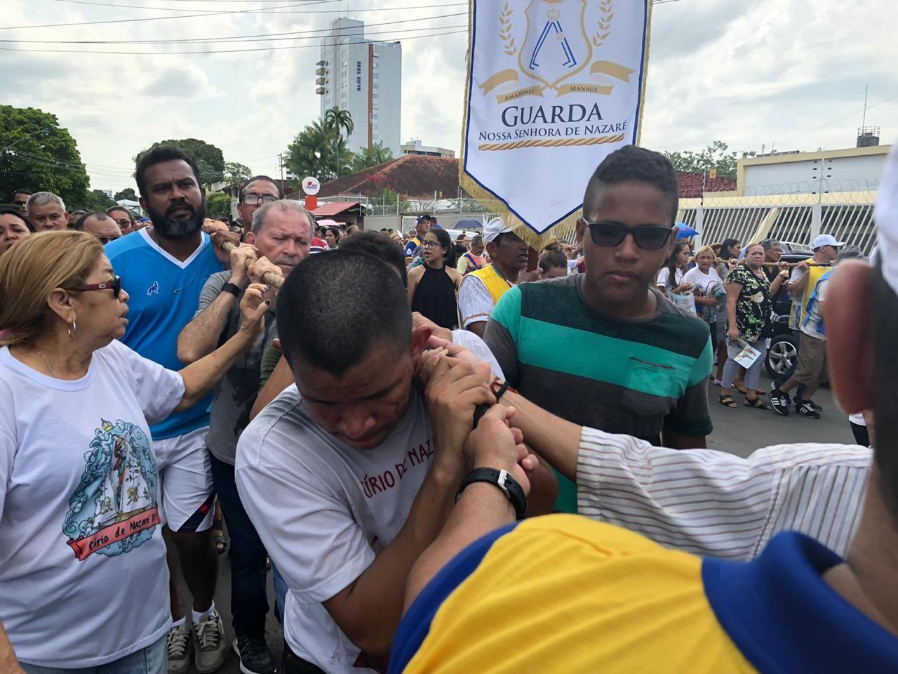 Procissão do Círio de Nazaré reúne fiéis em Manaus - Notícias - Plantão Diário
