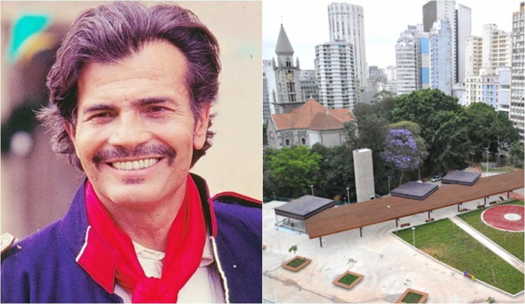 Projeto para mudar nome da Praça Roosevelt para Praça Tarcísio Meira provoca discussão entre moradores do Centro de SP