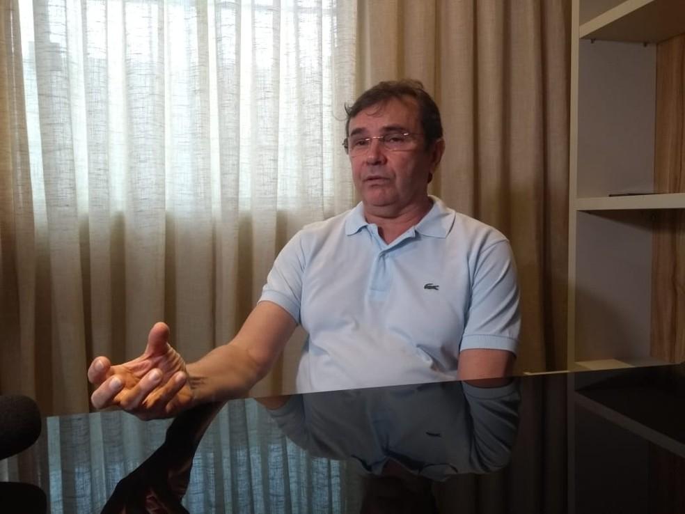 Madson Vidal médico RN — Foto: Acson Freitas/Inter TV Cabugi