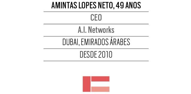 Amintas Lopes Neto, 49 anos, CEO da A.I. Networks Dubai (Foto: Arquivo pessoal)
