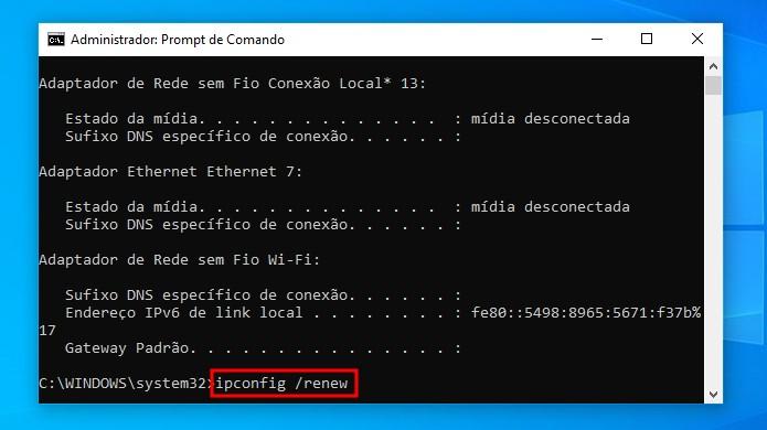 Wi-Fi não tem uma configuração de IP válida: veja como resolver erro