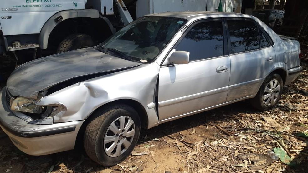 Motorista atropelou mulher ao sair de garagem em Piracicaba — Foto: Edijan Del Santo/EPTV