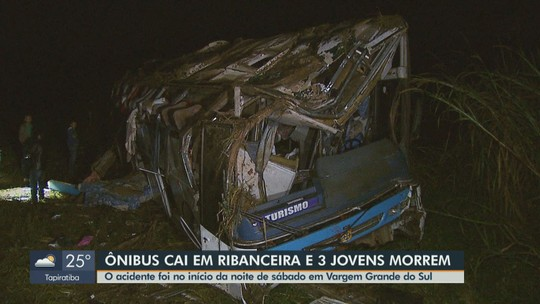 Acidente envolvendo ônibus deixa mortos e dezenas de feridos em Vargem Grande do Sul