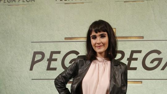 Valentina Herszage sobre gravação da cena da primeira noite de amor de Bebeth: 'Foi tranquilo'