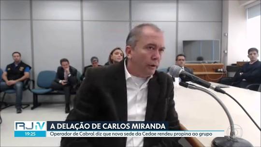Carlos Miranda diz em delação que nova sede da Cedae foi fonte de propina para Cabral