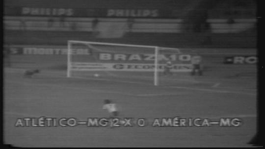 Você se lembra? Vitória do Atlético-MG fez torcida do América-MG acender velas, em 1978