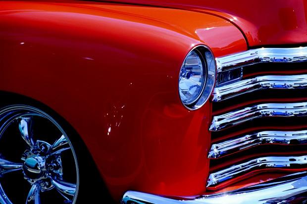 Carro antigo laranja (Foto: divulgação)