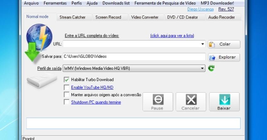 Como usar o aTube Catcher para baixar vídeos e músicas do