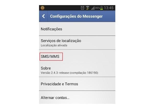 Como centralizar todas as mensagens de SMS e chat no