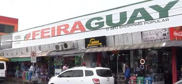 Feiraguay — Foto: Reprodução/TV Subaé