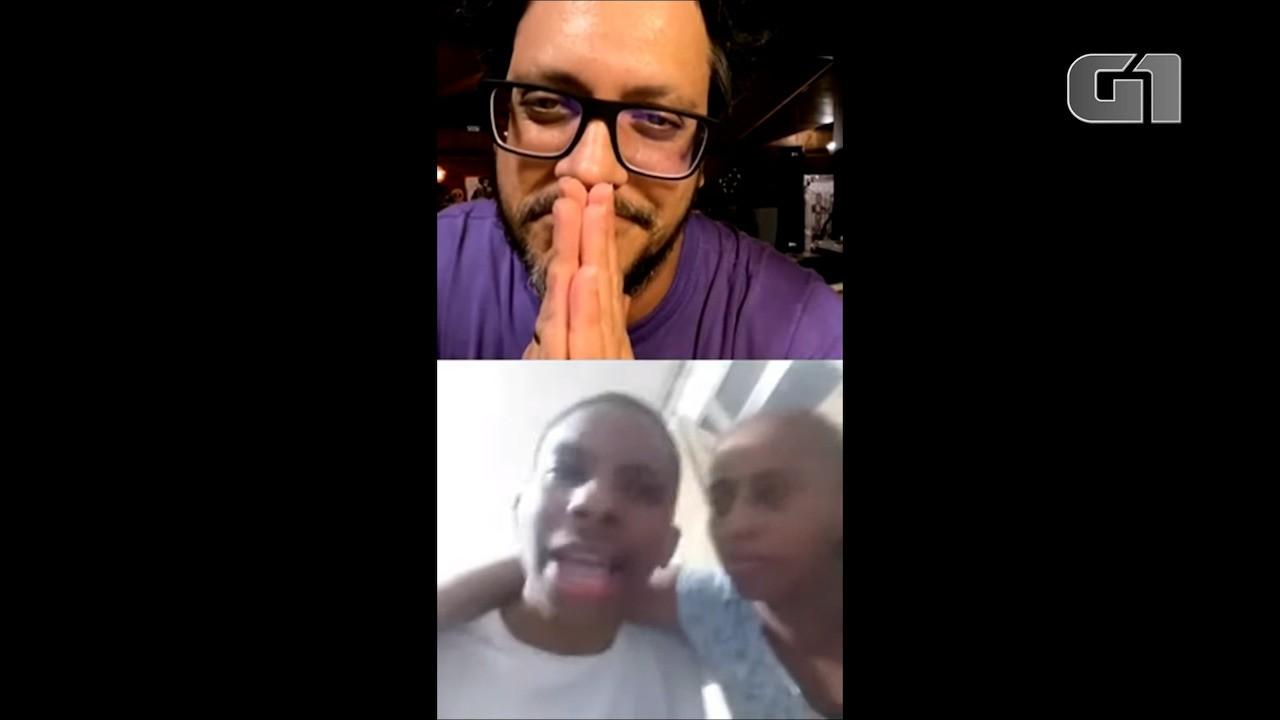 VÍDEO: 'Estou muito bem', diz Lucas Penteado, do 'BBB 21', em live com Lucio Mauro Filho
