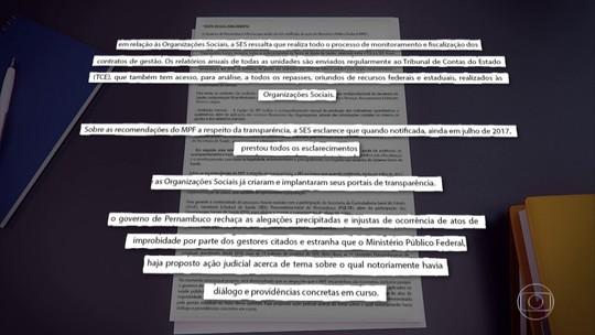 MPF ajuíza ação de improbidade contra governador de PE e secretário de saúde