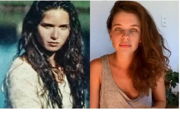 Ingra Lyberato interpretou a carioca Madeleine na versão original. Quem ficou com o papel foi Bruna Linzmeyer (Foto: Reprodução)