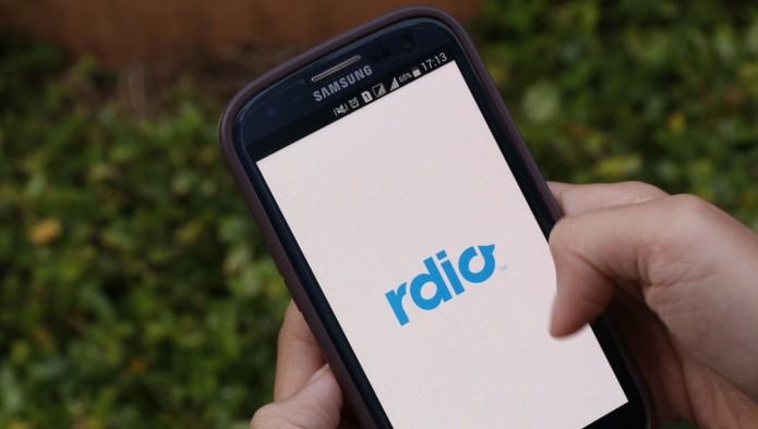Rdio (Foto: Reprodução/Raissa Delphim )