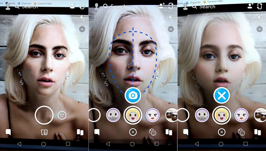 Entenda como usar o filtro de bebês do Snapchat — Foto: Reprodução