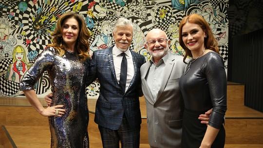 Miguel Falabella, Claudia Raia e Silvio de Abreu relembram trajetória do 'Show dos Famosos'