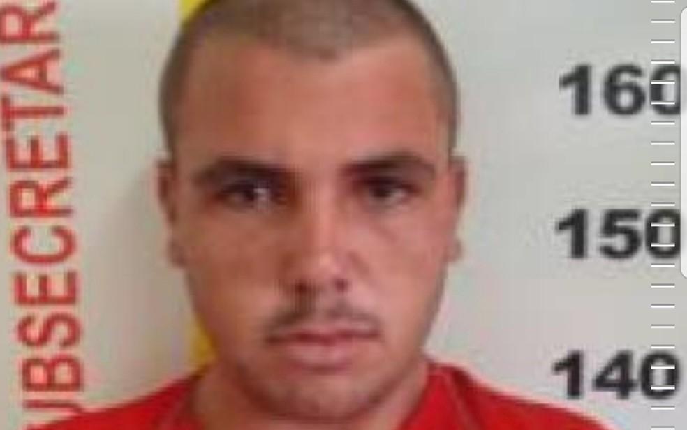 Detento é capturado após fugir do presídio de São Sebastião do Paraíso, MG — Foto: Divulgação/Sejusp