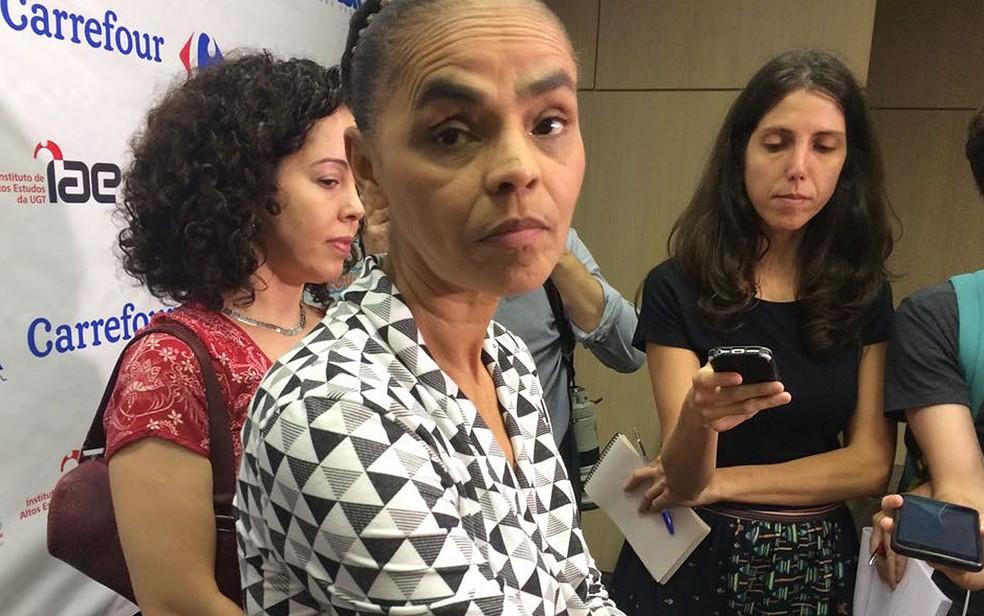 Pré-candidata à Presidência da República Marina Silva (Rede) (Foto: Tahiane Stochero/G1)